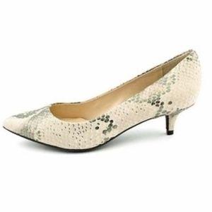 Vince Camuto Naureen Snakeskin Mini Heel Size 10M